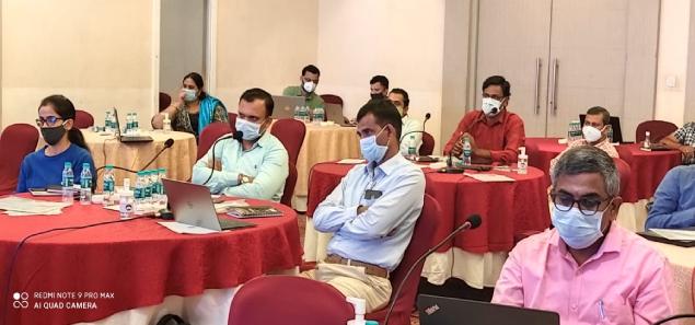 Training of Trainers (ToT) programme- Sero-surveillance COVID-19, Dengue & Chikungunya Study, Nov 19th to Nov 22nd 2020 at Hyderabad